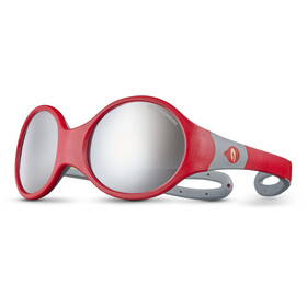 Julbo Loop L Spectron 4 Occhiali da sole Bambino, red/grey/grey flash silver